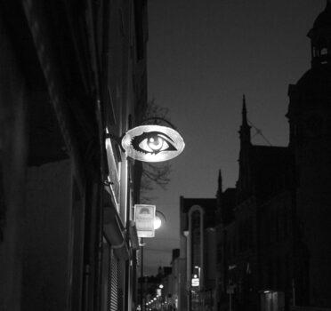 """Jan Thau Foto """"the city is watching you"""""""